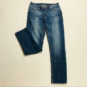 Reba Jeans Heavy Stitch 10 Embellished Straight